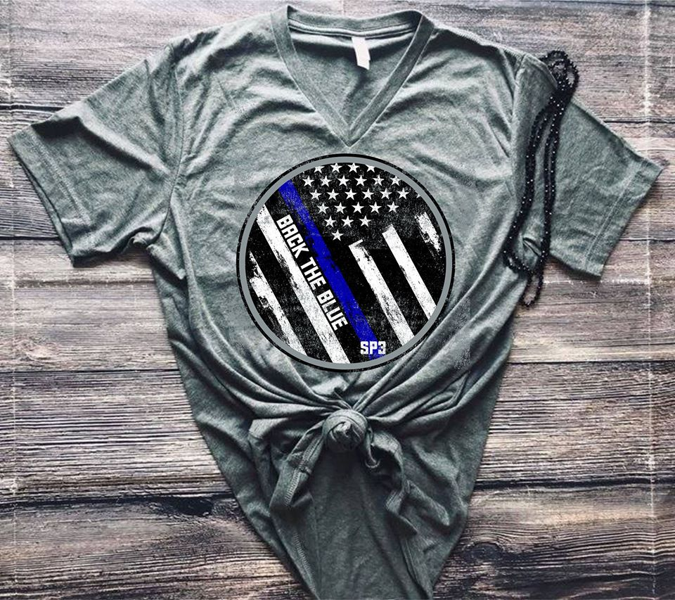 TTP; BACK THE BLUE