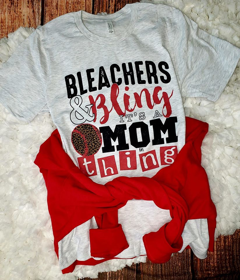 Bleachers and Bling; Baseball Mom Thing
