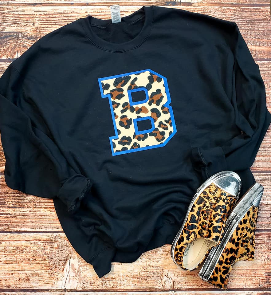 Leopard & Spirit Fleece