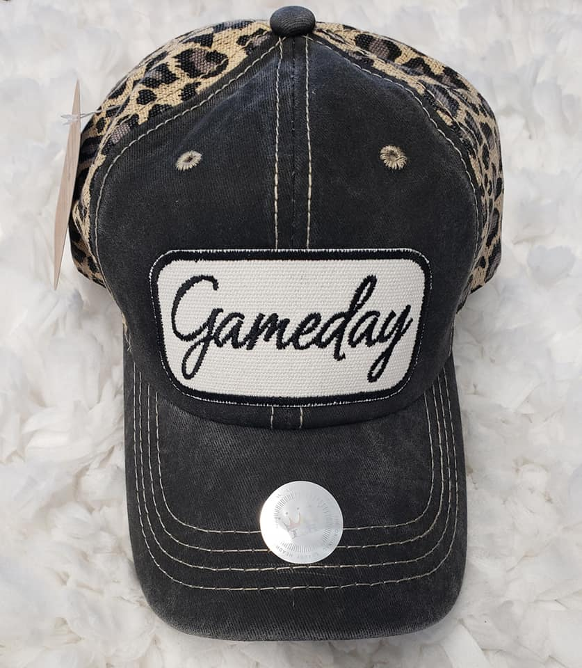 LEOPARD CAP; GAME DAY